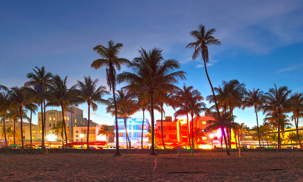 Cue Will Smith's Welcome to Miami. The authentic Miami energy created on Ocean Drive is sure to impress. Average cruising speed is 20 MPH, but there's plenty to see!