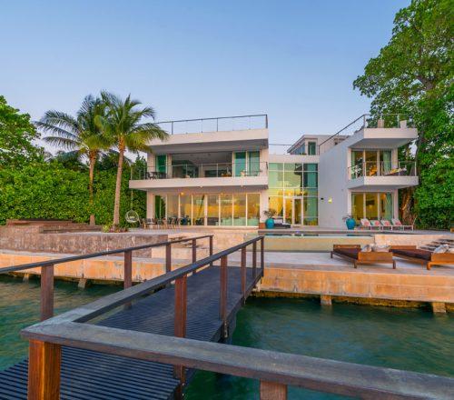 Rent House In Miami Beach: Villa Valentina - Luxury Waterfront Villa Miami