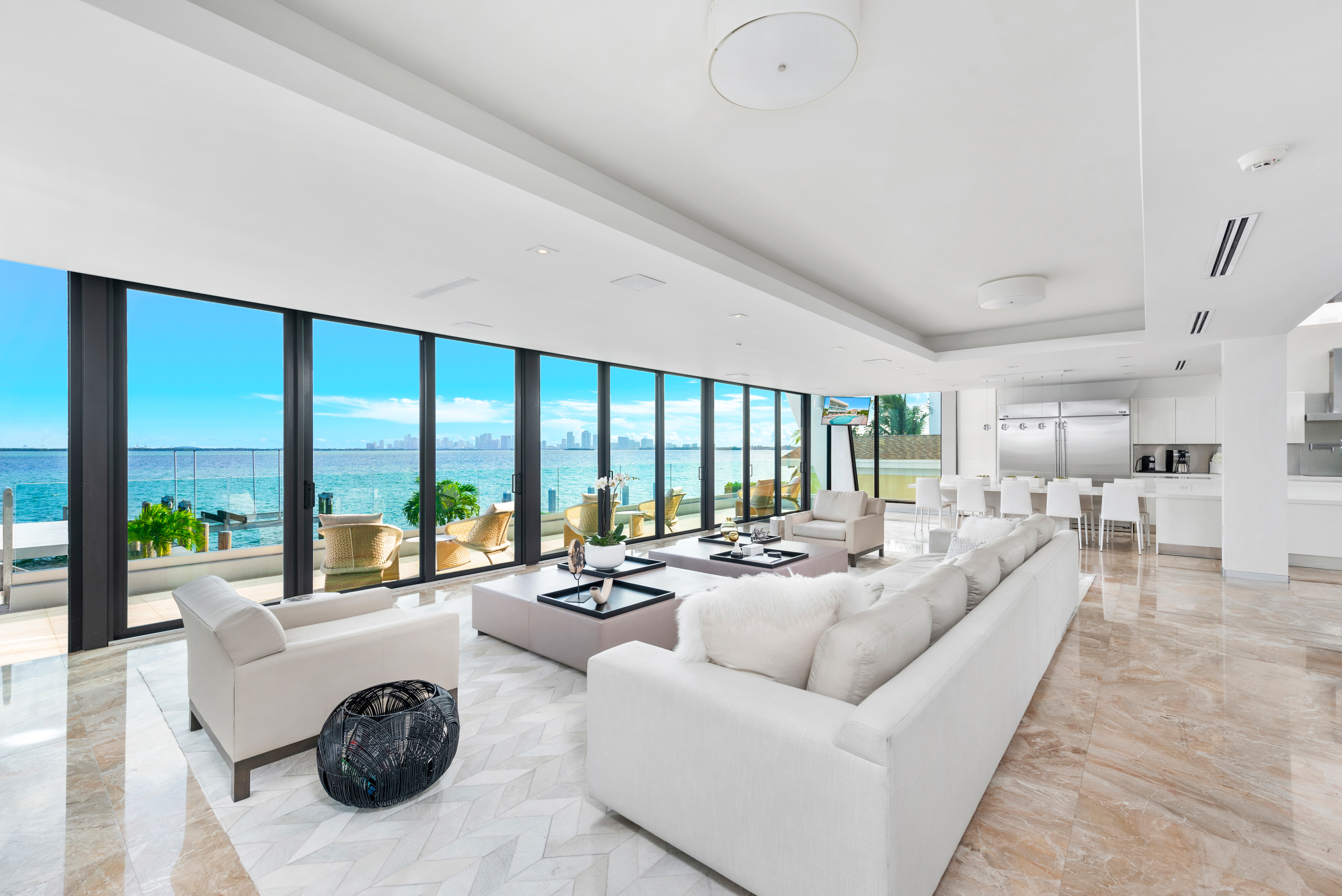 Image of Villa Violette - Luxury Contemporary Waterfront Villa Miami
